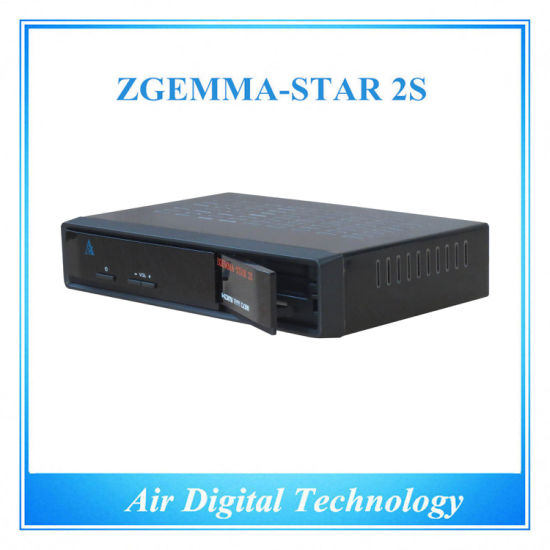 Zgemma-Star 2s Satellite Receiver HD DVB S DVB S2 Twin Tuner Satellite Decoder No Dish FTA with IPTV pictures & photos