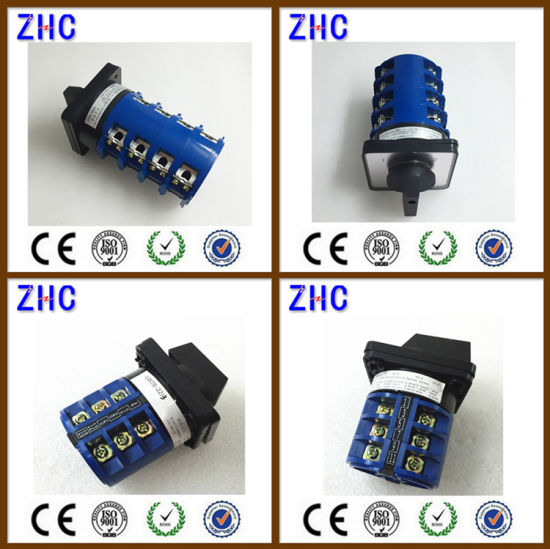 20a lw26 20 3p hot selling cheap salzer 3 position rotary cam switch 12 Position Rotary Switch