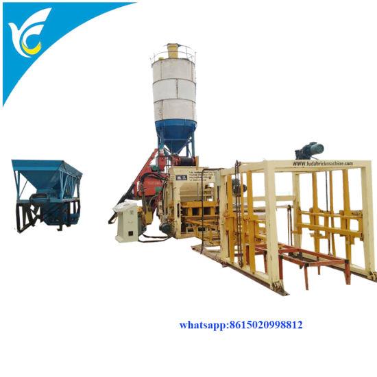 China Qt10-15 Automatic Cement Concrete Paver Brick Maker