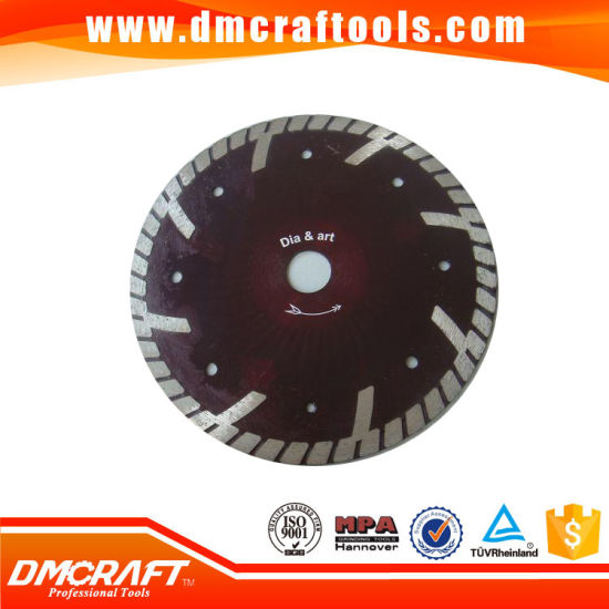 Continuous Rim T Segment Turbo Curved Diamond Saw Blade pictures & photos