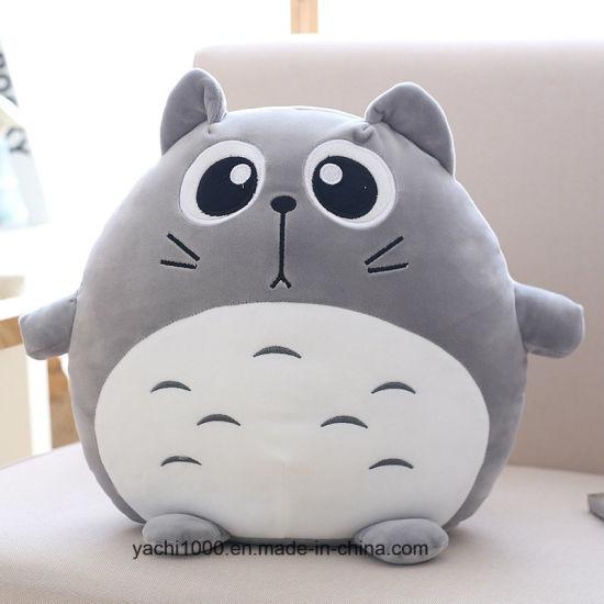 Custom Plush Stuffed Cute Totoro Animal Toy Cat