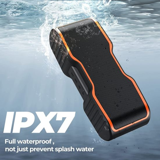 F2 Outerdoor Waterproof Portable Speaker Wireless HD Stereo Sound Speaker Richer Bass 30h Playtime