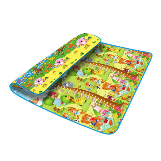 Baby Non-Toxic Portable Eco-Friendly Soft Anti-Collision Camping and Picnin Mat