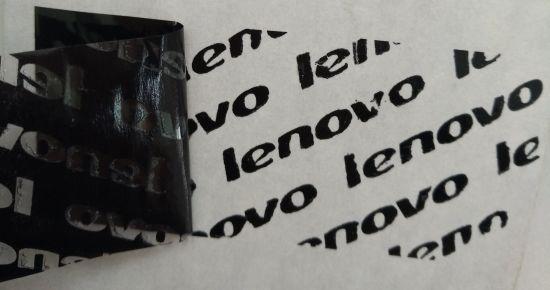 Hotsale Partial Transfer Tamper Evident Transfer Void Label Custom Logo for Lenovo