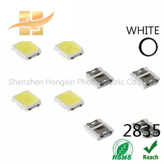 High Quality 3V 0.2W White SMD 2835 Epistar LED Chip