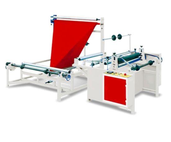 Plastic Film Rewinding and Folding Machine