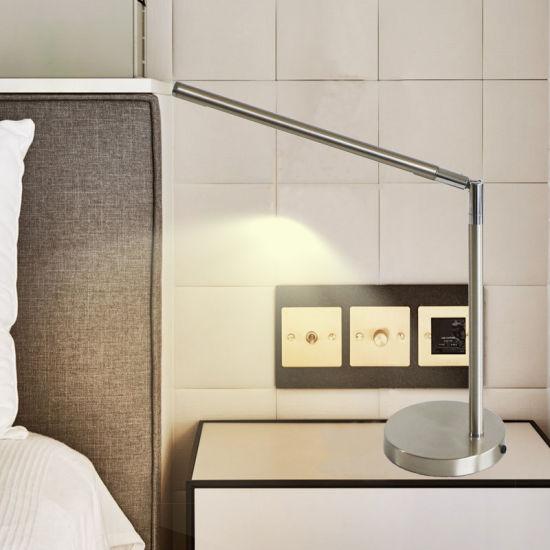 Reading Room Classic Nordic Hotel Desk Beside Modern Decorative Customized Tube Table Lamp LED Lighting