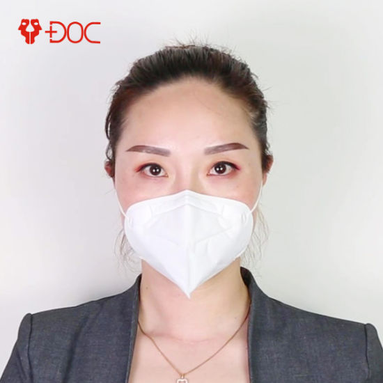 Hot Sale Personal Fashion Anti-Pollution Dust Flu Filter C-Shape N95 Mask with TUV Certificated