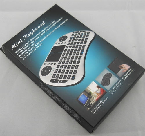 China Manufacturer Mini I8 Air Mouse Backlit Wireless