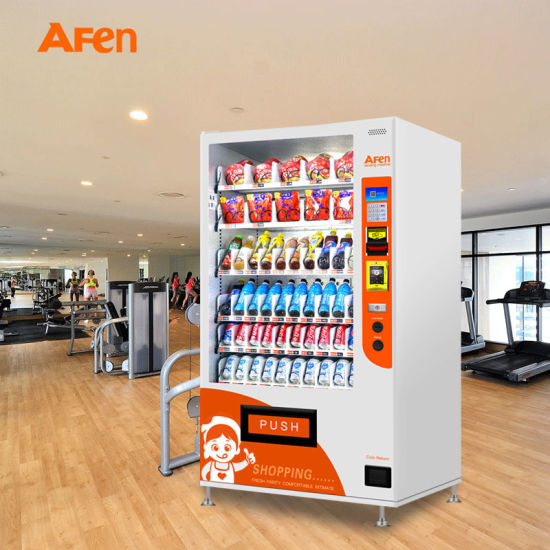 Afen Best Price Snacks and Beverages Combo Vending Machine