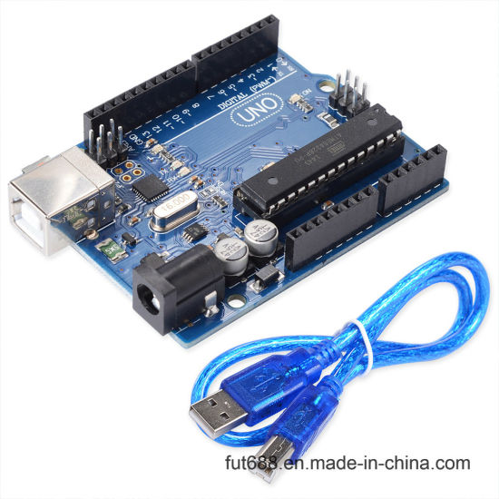 Factory Outlet Uno R3 Board for Arduino with 30cm Cabale Without Logo