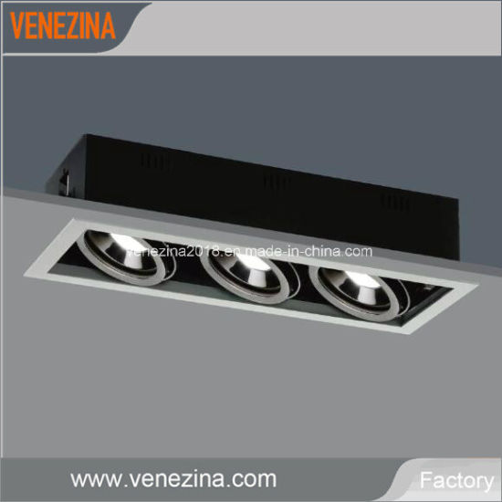 3x25w Cree Led Grille Light For Artwork