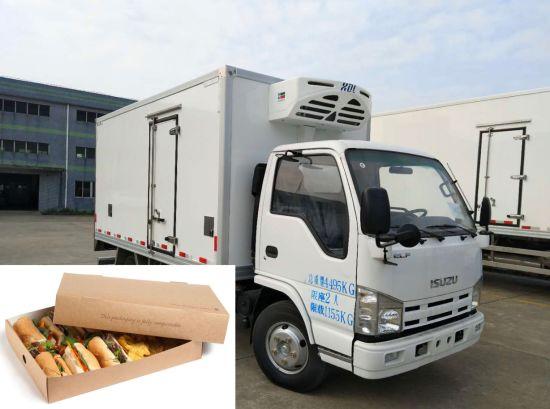 Soonyuan Refrigerated Truck Body - Bakery Food