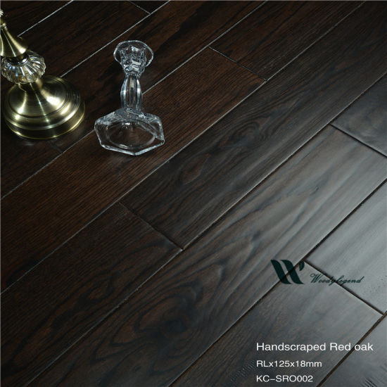 Dark Oak Solid Wood Flooring China, Dark Oak Wood Laminate Flooring