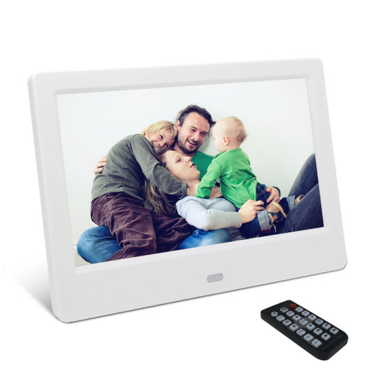 7inch Factory Wholesale Cheap Price Digital Photo Frame with Music Photo Slideshow Playback