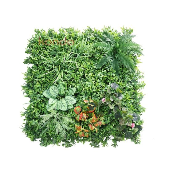 New Design Jungle Style Vertical Plants Wall Artificial Wall Hanging Plant Green Grass Wall for Home Decoration