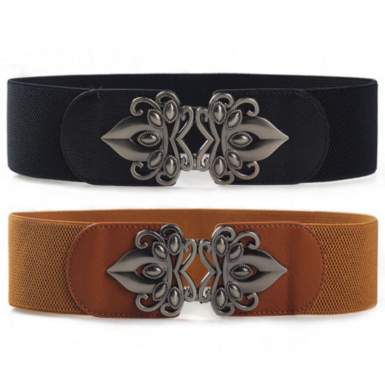 Fashion Lady Buckle-Free Elastic Belt Elastic Belt pictures & photos