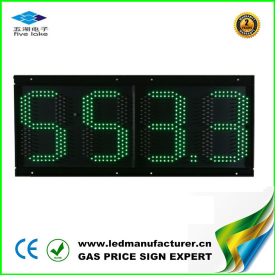 Outdoor 8 Inch Dual Side LED Gas Price Sign Board