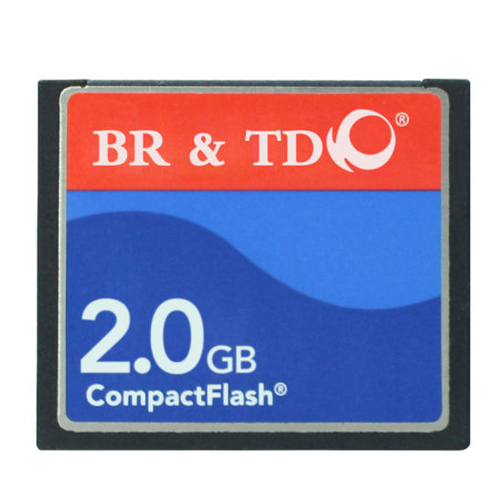 Compact Flash Memory Card Br&Td Ogrinal Camera Card 2g