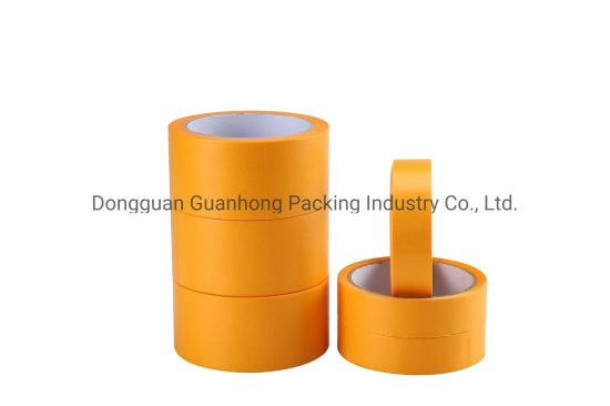 Economical Car Painting Masking Tape with High Temperature Resistance