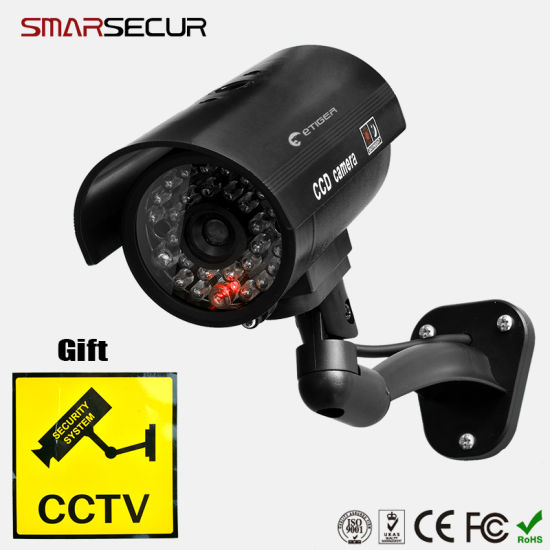 Home Security Simulated Video Bullet Camera pictures & photos
