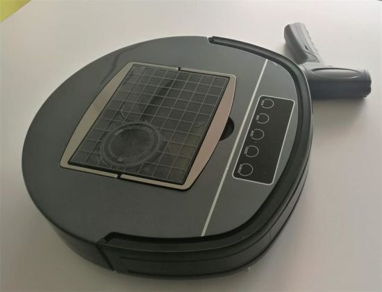 Robot Vacuum Cleaner with Memory Chips Navigation and Cyclone System
