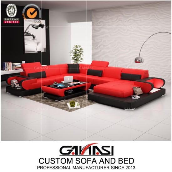 Chinese Top Leather Home Furniture Sofa