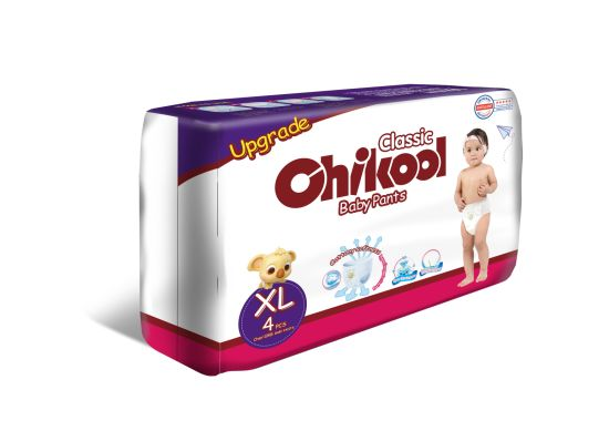 2020 New Disposable Pull on up Baby Diaper Training Pants with Discard Tape