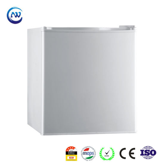 48L Hotel and Home Separate Chiller Compartment Single Door Refrigerator Mini Fridge with Gems Meps Approved Ks-48r