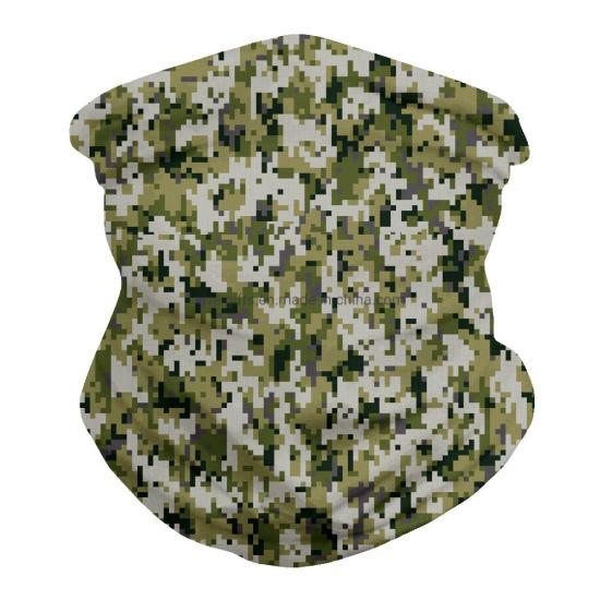 Wholesale Custom Face Scarf Multifunction Outdoor Sports Camo Headwear Bandanas Scarf