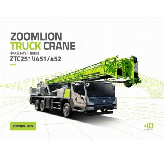 25 Ton Zoomlion New Model Mobile Truck Crane