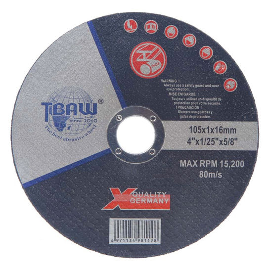 China Factory OEM/ODM Abrasive Cutting Disc Wheel 105mm for Stainless Steel Grinder