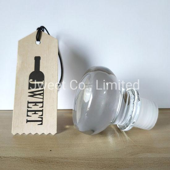 T Shape Glass Top Wine Bottle Cork Stopper