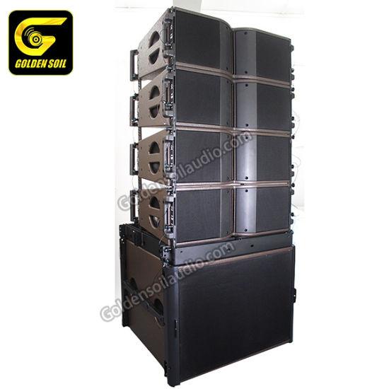 "Goldensoil Audio Kara Line Array with B&C Speaker Kudo Dual 12"" 2-Way Line Array Loudspeaker"
