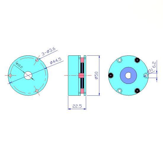 Electromagnetic Brake Motor Power off Brake Electromagnetic Power off Brake/Solenoid