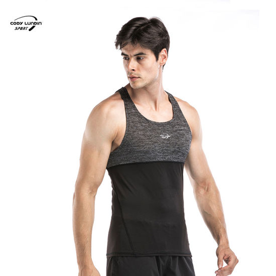 Cody Lundin Custom Men's Tank Top with Hood Gym Loose Fit Muscle Cut Tank Tops