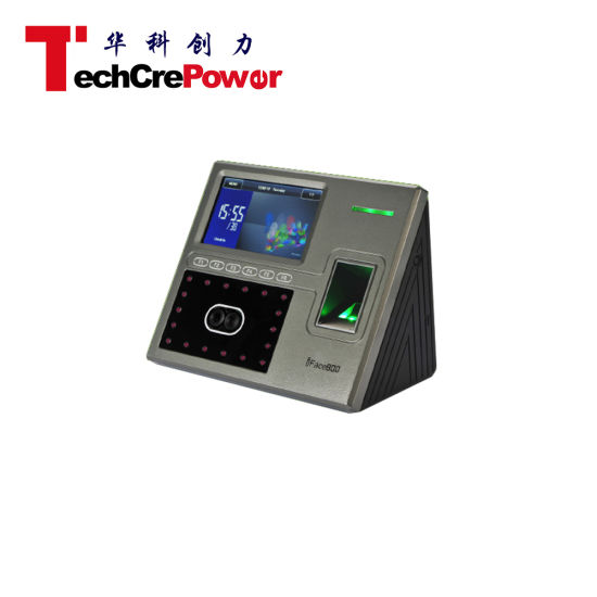 Uface800 Multi-Biometric Facial Fingerprint Zk Time Attendance and Access  Control System