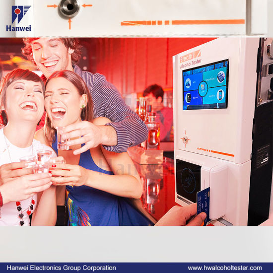 At319s Standalone Alcohol Tester Switchable Result Units (mg/l, g/l, %BAC, ‰ BAC)