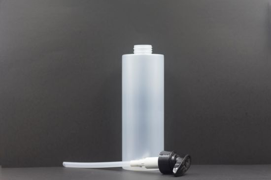 750ml Pet Transparent Cosmetic Packaging Shampoo Body Lotion Bottle Plastic Product.
