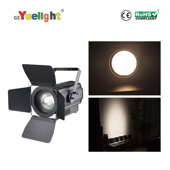 Xxx Video Stage Light Fresnel LED 300W Warm Studio Light with Zoom
