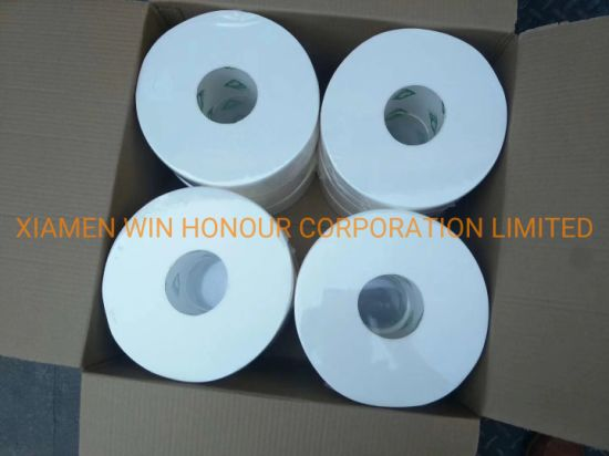 Custom Toilet Paper Factory 1 Ply 20 GSM Toilet Paper Jumbo Roll Toilet Tissue