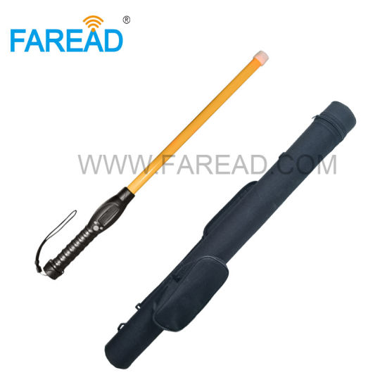 Bluetooth and USB Eid Stick Reader Fdx-B Hdx Handheld Portable Scanner Long Antenna for Ear Tag Microchip Livestock Management with Android APP