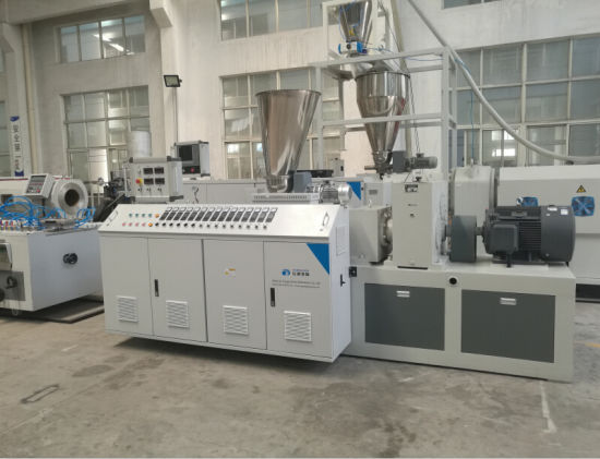 PVC Electric Wire Duct Profile Production Line pictures & photos