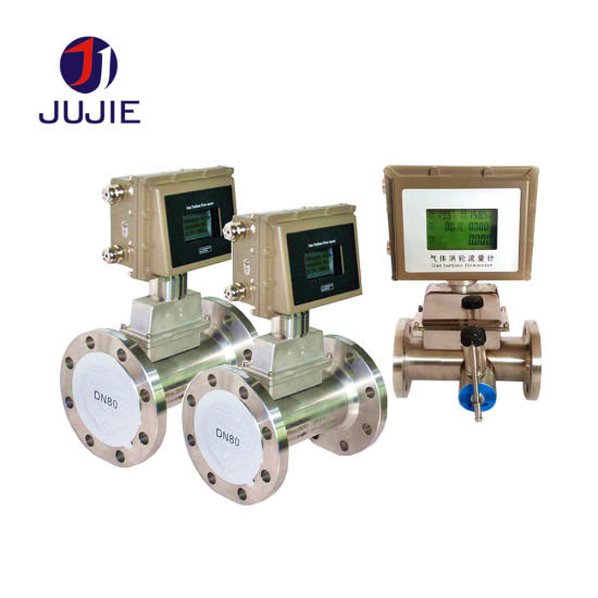Gas Turbine Flowmeter of 304 Stainless Steel Material with High Quality and Low Price
