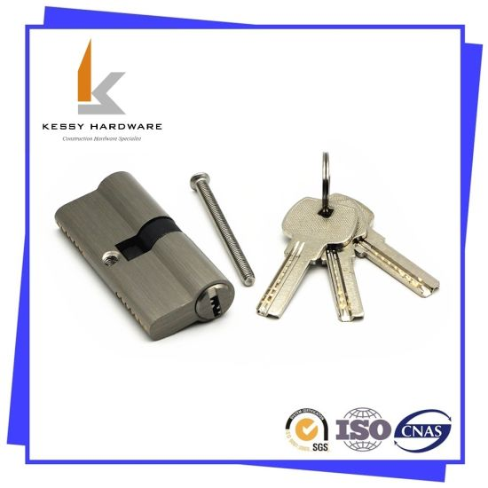 Door Lock Euro Profile Solid Brass Cylinder