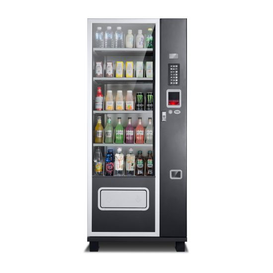 Compact Snack Beverage Vending Machine Used for Hotel Shipping Mall Hospital School