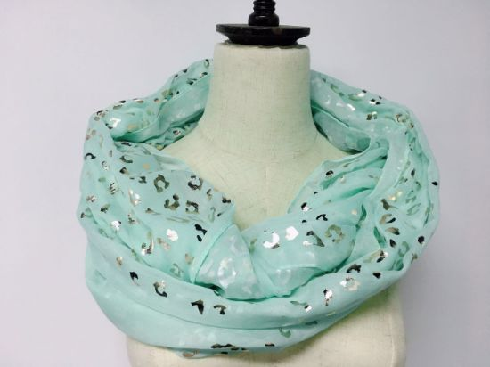 BSCI Audit Spring Autumn Fashion Women's Print Shawl Scarves (HY042442)