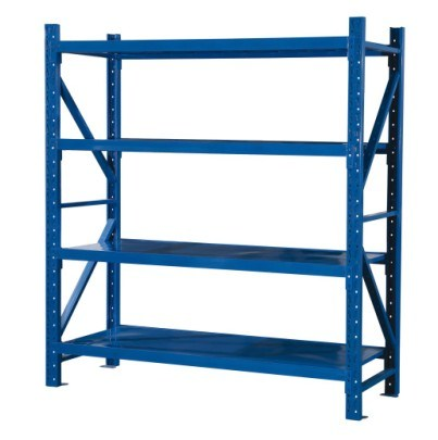 Medium Standard Duty Long Span Storage Shelving with Step Beam