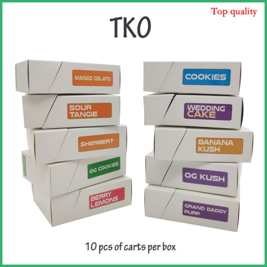 [Hot Item] 2019 Newest Tk Extracts Packaging Vape Cartridges Cbd Tank