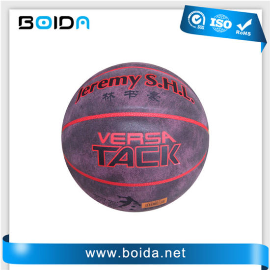 Promotional Waterproof PU PVC TPU Sport Rubber Basketball (B88370) pictures & photos